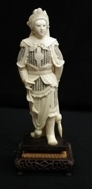 本象牙 モンゴル帝国初代皇帝 チンギス・カン
